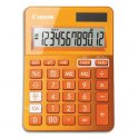 CANON Calculatrice de bureau 12 chiffres LS-123K Orange