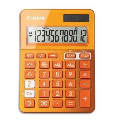 CANON Calculatrice de bureau à 12 chiffres LS-123K, coloris orange