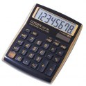 CITIZEN Calculatrice de bureau coloris Noir Or CDC-80GE
