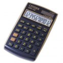 CITIZEN Calculatrice de poche coloris Noir Or CPC-112GE