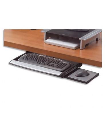 FELLOWES Tiroir clavier et tapis souris
