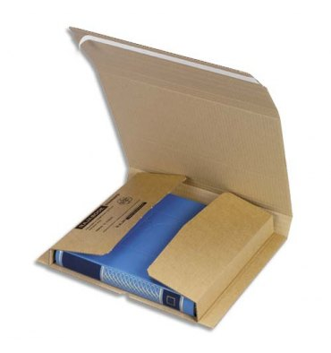 EMBALLAGE Etui postal en carton brun, fermeture adhésive Standard - Dimensions : 310 x 220 mm