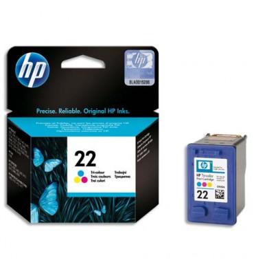 HP Cartouche jet d'encre couleur N°22