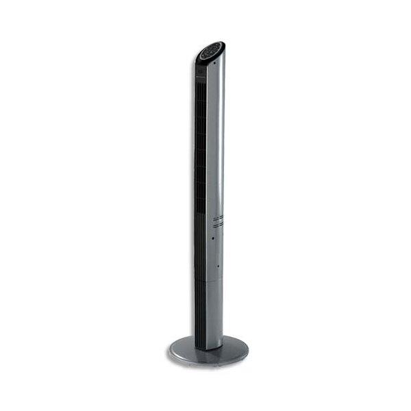BIONAIRE Ventilateur colonne Ultra fin + télécommande 35 W 3 vitesses - L16 x H120 x P15 cm noir graphite