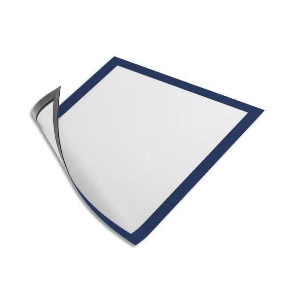 durable sachet de 5 cadres d 39 affichage duraframe dos magn tique bleu format a4. Black Bedroom Furniture Sets. Home Design Ideas