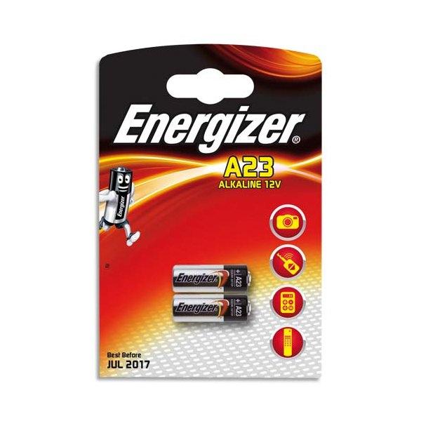 ENERGIZER Blister de 2 piles alcalines A23/E23A (photo)
