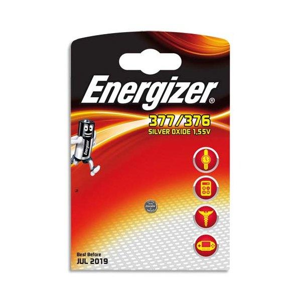 ENERGIZER Blister de 1 pile montre 377/376 (photo)