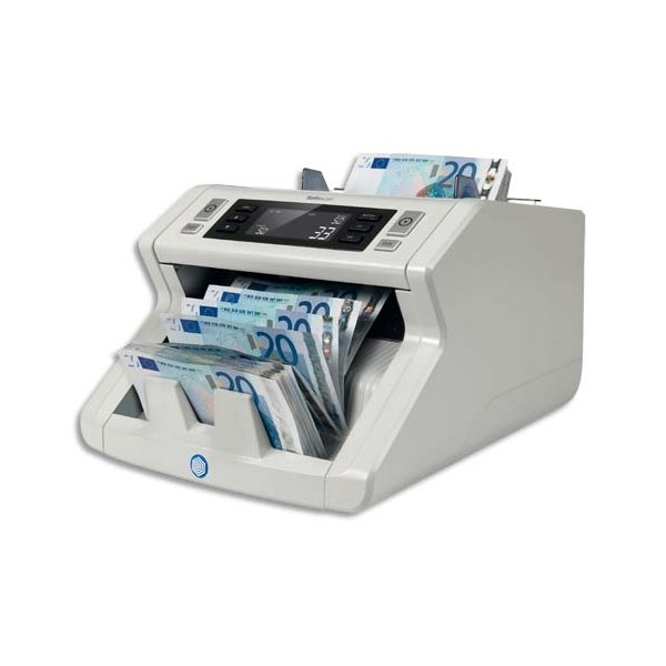 SAFESCAN Compteuse de billets 2250 blanche avec triple détection : UV, magnétique, infrarouge