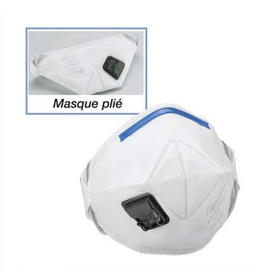 3m lot de 10 masques ffp2