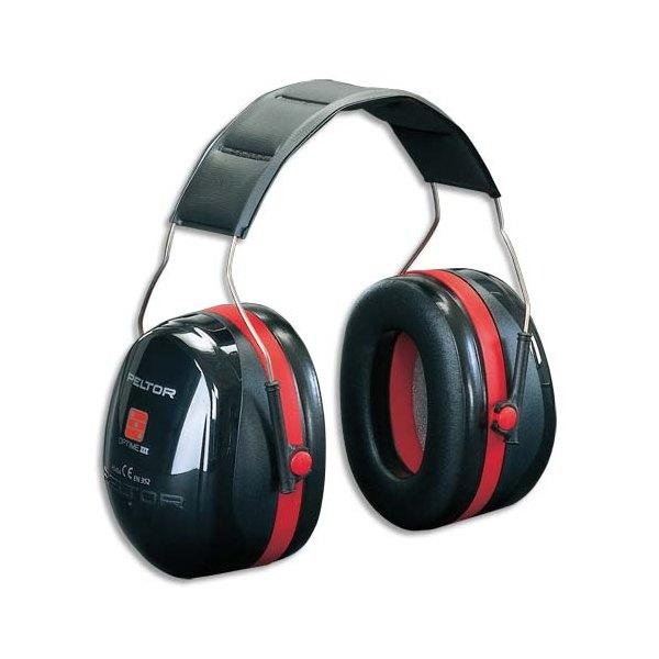 PELTOR BY 3M Casque anti-bruit Optime III serre-tête réglable coloris noir