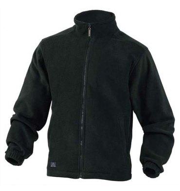 DELTA PLUS Veste polaire Vernon en laine polaire polyester fermeture zip 2 poches noire Taille M
