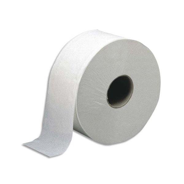 TORK Paquet de 12 rouleaux de Papier toilette Jumbo 2 plis pure cellulose, 557 formats L170 cm blanc