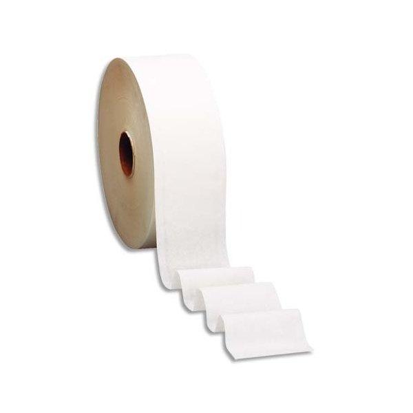 TORK Colis de 12 Bobines de Papier toilette Mini Jumbo Advanced 2 plis L180 m x D19 cm blanc uni