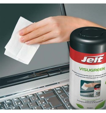 JELT Lingettes Visugreen pour écrans fragiles