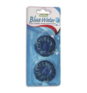 NICOLS Lot de 2 Blocs chasse d'eau bleue Airplus