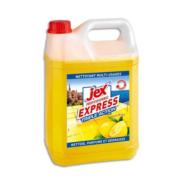 JEX Professionnel Bidon de 5 litres dégraissant triple action multi-surfaces Pays Niçois