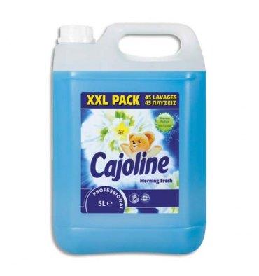 CAJOLINE Bidon de 5 Litres Assouplissant pour le linge odeur de frais