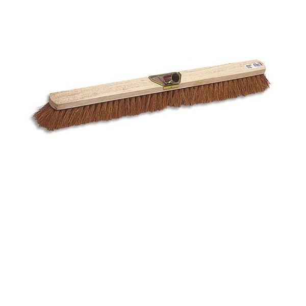 BROSSERIE THOMAS Balai coco d'intérieur monture en bois douille en métal Largeur 100 cm