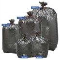 SAC POUBELLES Boîte de 250 Sacs-poubelle noirs top qualité NF 100 litres 34 microns
