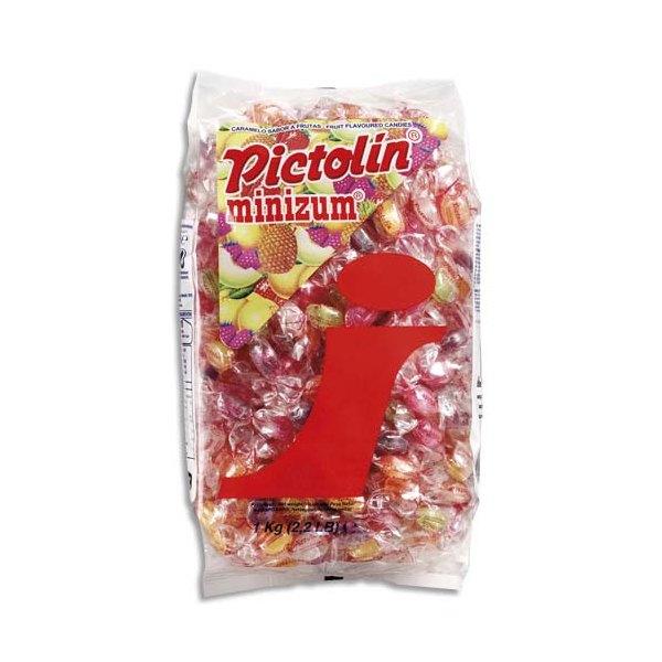 PICTOLIN Minizum Sachet de 1Kg de Bonbons d'accueil parfum Exotique (photo)