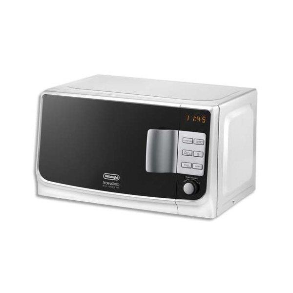 DELONGHI Micro-ondes 1050W - 20L blanc (photo)