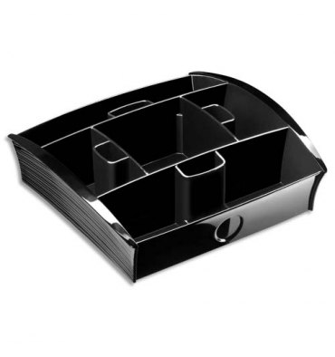 TAKE A BREAK BY CEP Plateau distributeur 13 cases en polystyrène noir