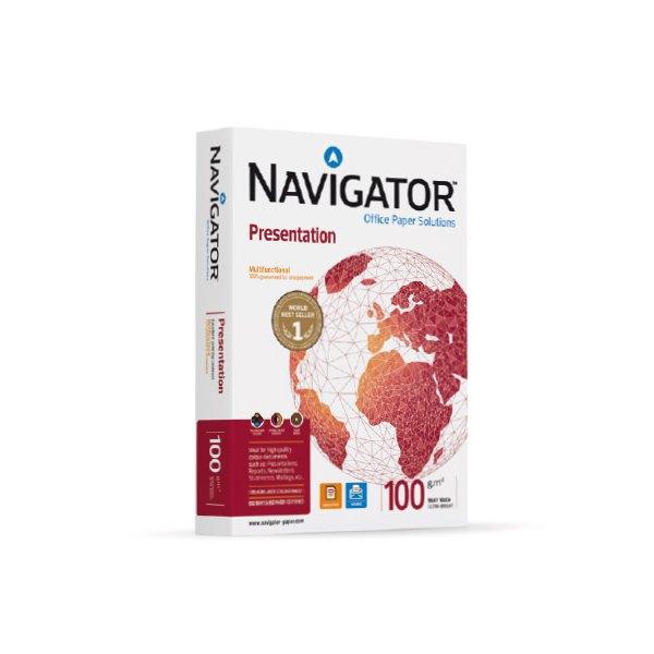 NAVIGATOR Ramette de 500 feuilles papier blanc Navigator Presentation A4 100g