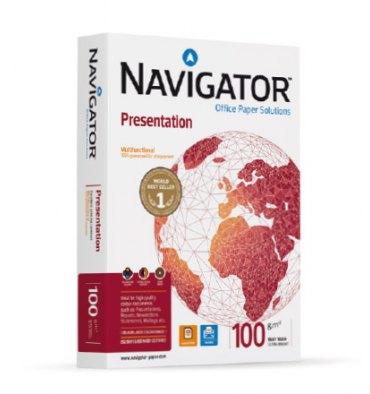 NAVIGATOR Ramette de 500 feuilles papier blanc Navigator Presentation A3 100g