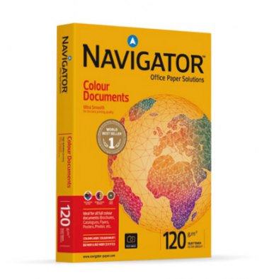 NAVIGATOR Ramette de 250 feuilles papier blanc Navigator Colour Document A4 120g