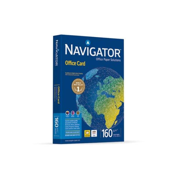 NAVIGATOR Ramette de 250 feuilles papier blanc Navigator Office Card A4 160g