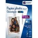 AVERY Boîte de 80 feuilles de papier photo brillant 10 x 15 cm, jet d'encre, 180g
