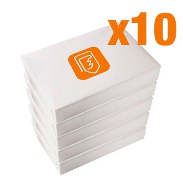 50 Ramettes de papier blanc multifonction A4 80g - au prix unitaire de 2,56€