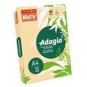 REY BY PAPYRUS Ramette de 500 feuilles papier couleur ADAGIO copieur, laser, jet d'encre 80g format A4 saumon
