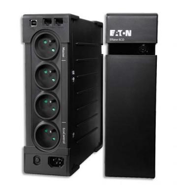 MGE Eaton Onduleur professionnel Ellipse ECO 650 FR, éco énergétique avec parafoudre intégré
