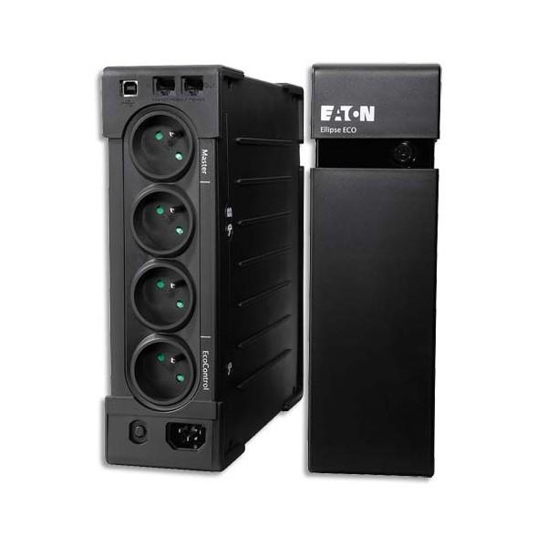 EATON Onduleur professionnel Ellipse ECO 1200 USB FR, éco énergétique avec parafoudre intégré (photo)