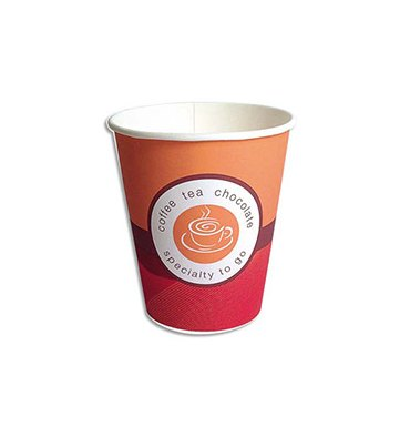 HUHTAMAKI Sachet de 100 Gobelet pour boissons chaudes 15 cl