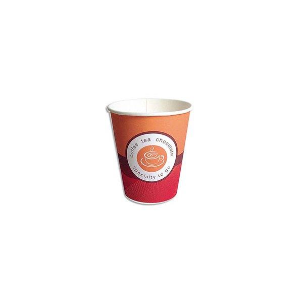 HUHTAMAKI Sachet de 100 Gobelet pour boissons chaudes 15 cl (photo)