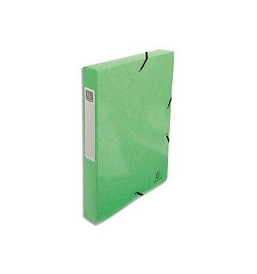EXACOMPTA Boîte de classement IDERAMA A4 dos de 40 mm, coloris vert clair