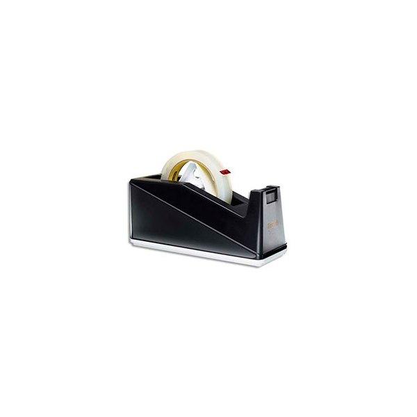 SCOTCH Dévidoir lourd lesté C10 noir pour rouleaux 25 mm x 66 m