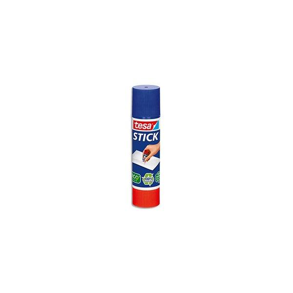 TESA Bâton de colle Easy Stick Ecologo forme ronde et recyclé de 20 g