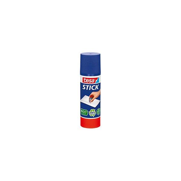 TESA Bâton de colle Easy Stick Ecologo forme ronde et recyclé de 40 g