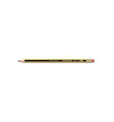 STAEDTLER Crayon graphite Gomme HB Noris 122