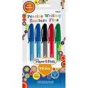 PAPERMATE Inkjoy Cap. Blister de 5 stylos bille à capuchon coloris assortis. Pointe fine