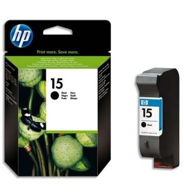 HP Cartouche jet d'encre noir N°15