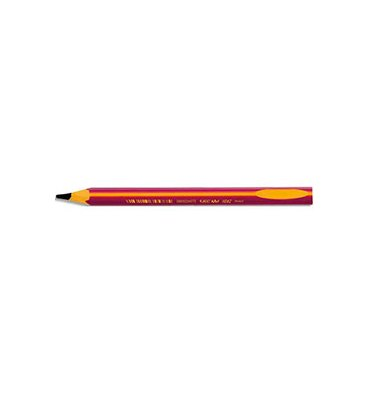 BIC Crayon graphite BEGINNERS. Mine HB 2mm. Corps rose pour gauchers/droitiers