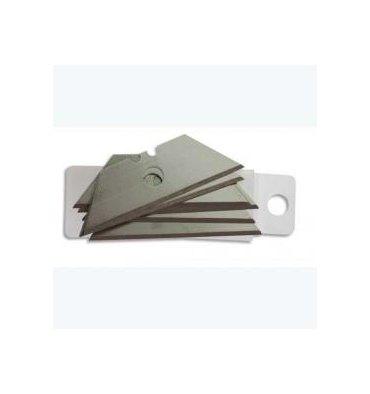 SAFETOOL Etui de 10 lames trapèze pour ouvre carton de sécurité Chartron