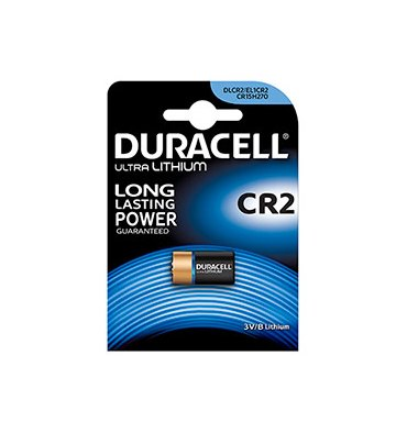 DURACELL Blister de 1 pile CR2 Utlra Lithium Duralock pour appareils photos