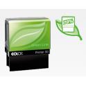 DIRECT FOURNITURES Tampon personnalisé COLOP PRINTER 20 Green Line - 4 lignes max