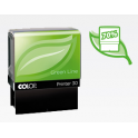 DIRECT FOURNITURES Tampon personnalisé COLOP PRINTER 40 Green Line - 6 lignes max