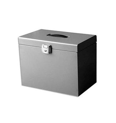 PIERRE HENRY Valise de classement en métal aluminium, livré avec 5 dossiers